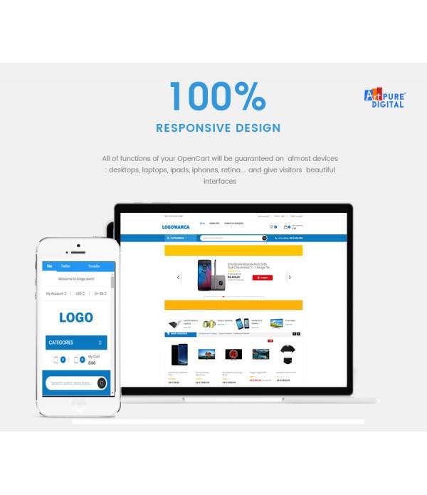 Loja Virtual Responsive Nova Geração + App Android