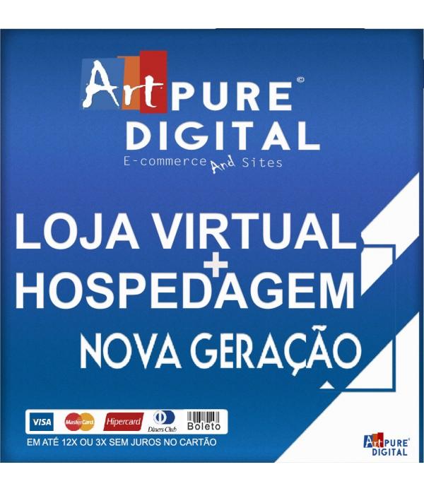 Loja Virtual Nova Geração + App Android + Hospedagem Grátis 2 anos
