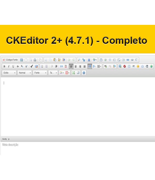 CKEditor 2+ (4.7.1)