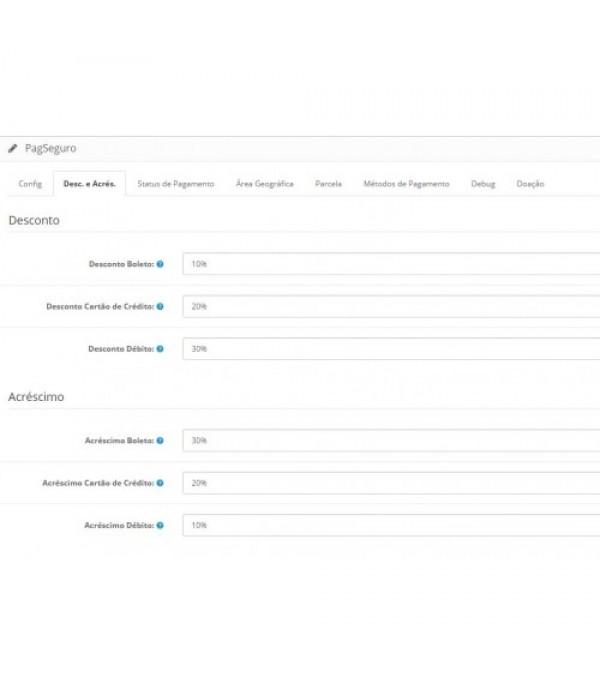 PagSeguro Checkout Transparente c/ Instalação e Suporte