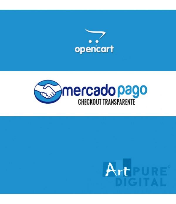 Módulo de Pagamento Transparente MercadoPago Opencart