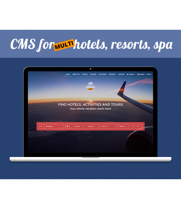 Multi Booking Hotels Site