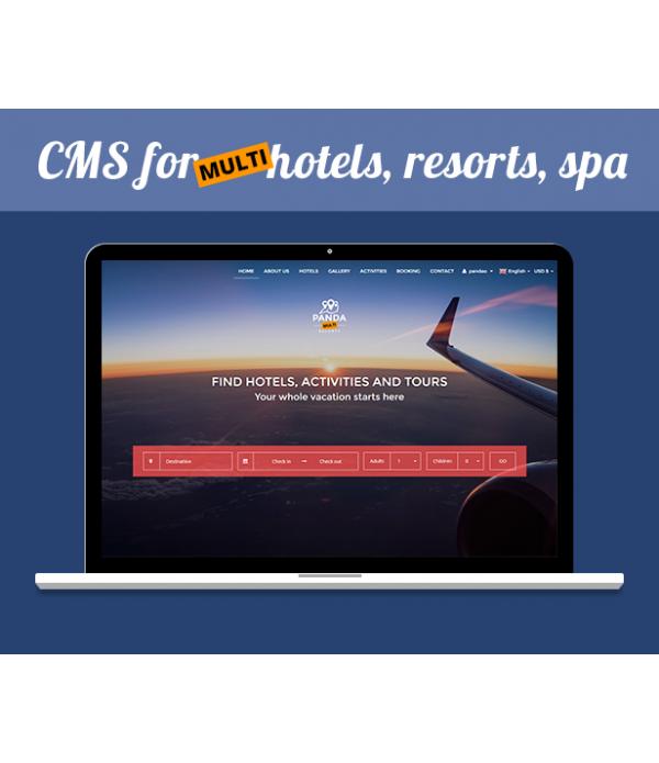 Site Multi Hotéis de Reservas