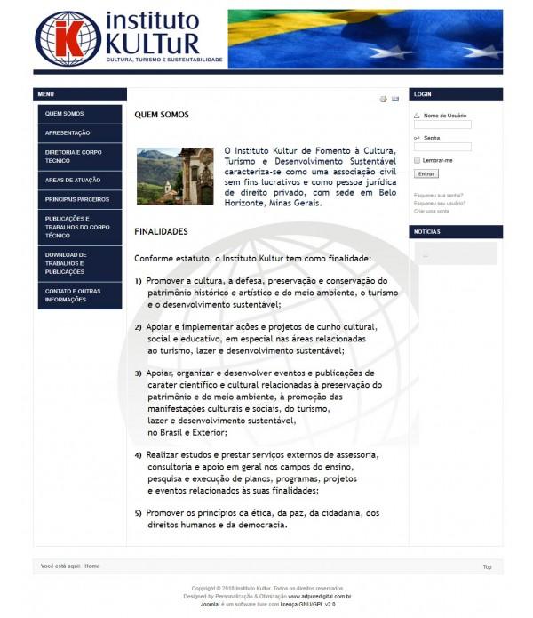 Site Institucional Completo c/ Hospedage...