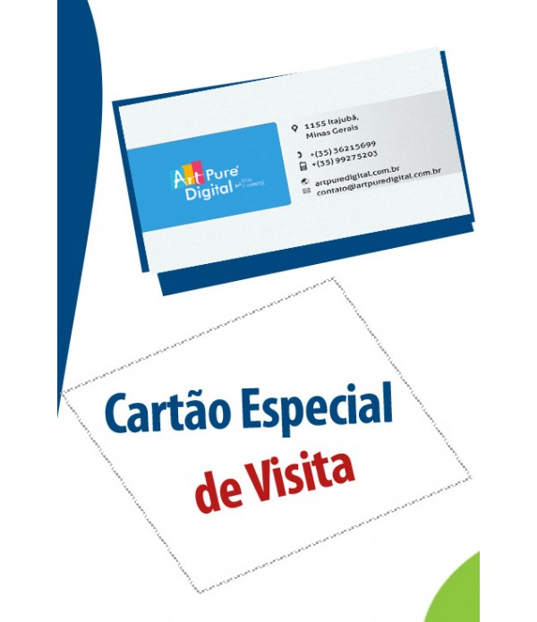 Creation of Business Card (provision of service development)