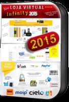 Nova Loja Virtual Infinity V. 2015 Mobile  (domínios ilimitados)